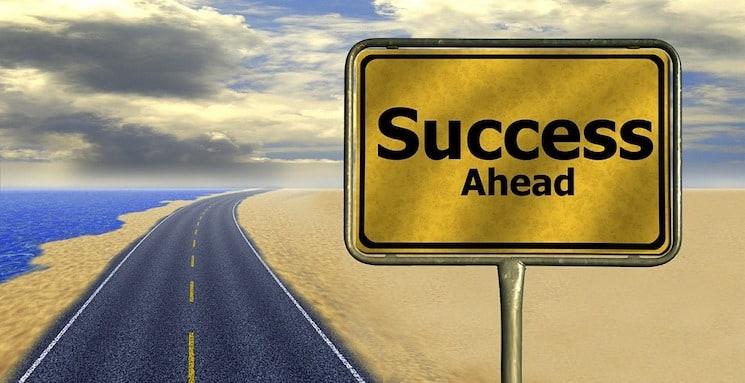 Wie wil er meer succes?