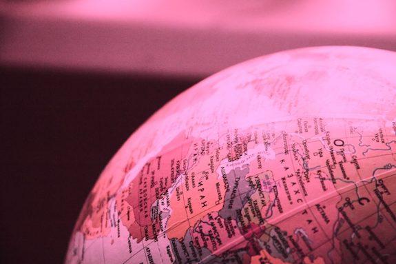 De wereld door een roze bril